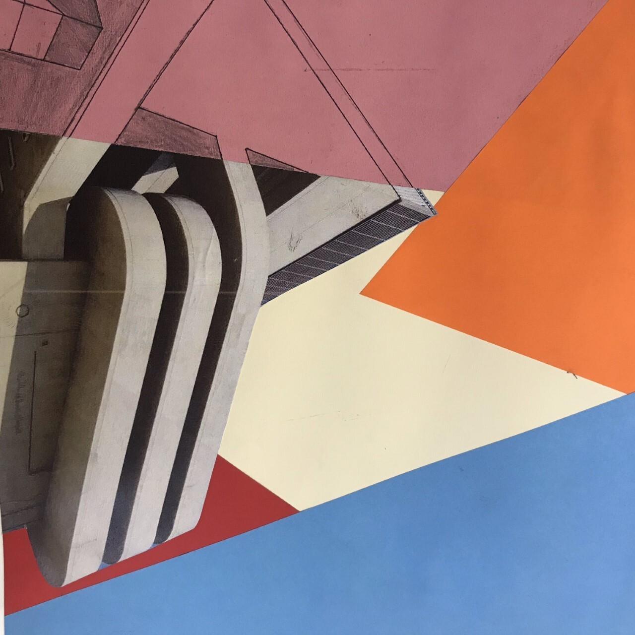 JC Y11 mixed media, collage building